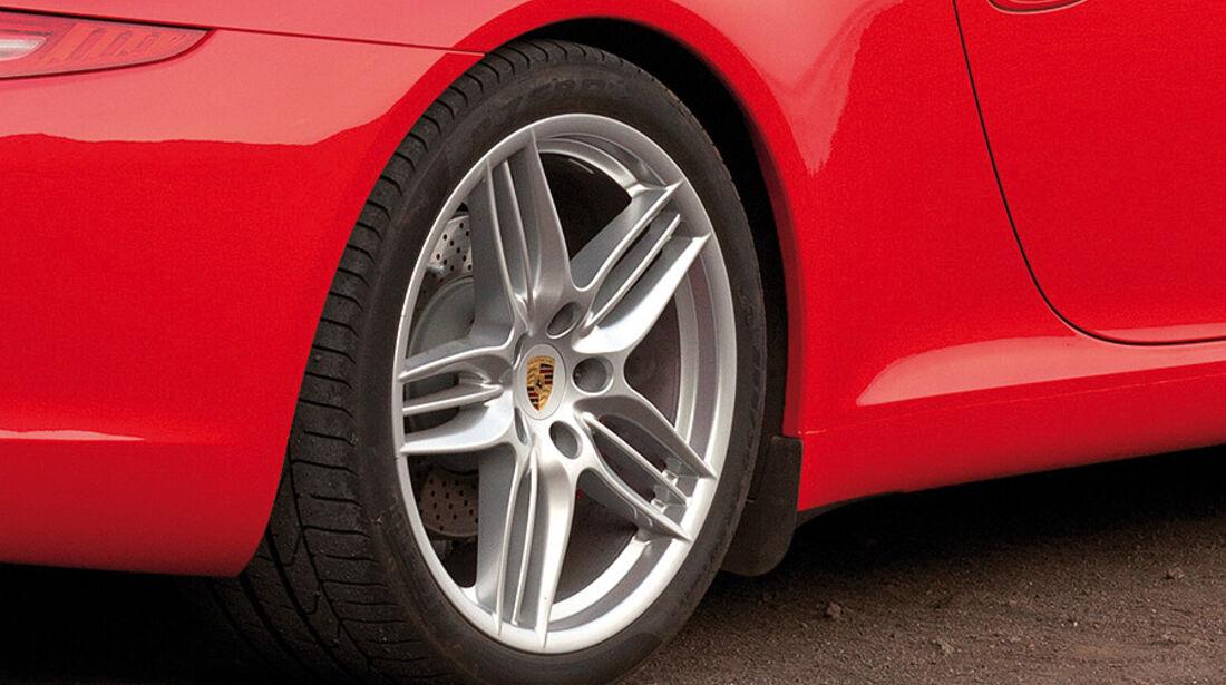 Porsche 911 Cabrio, Felge