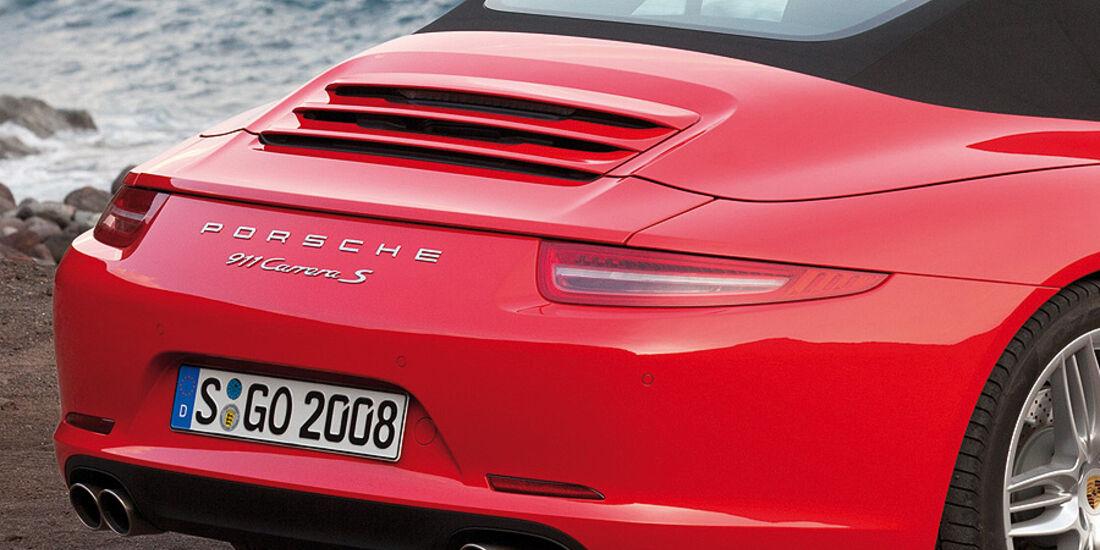 Porsche 911 Cabrio, Heck, Spoiler