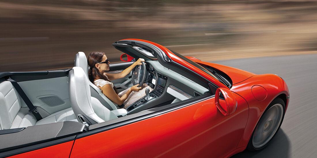 Porsche 911 Cabrio, Innenraum