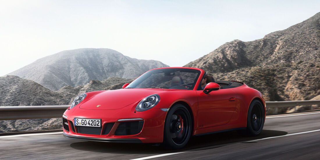 Porsche 911 Carrera 4 GTS - Cabrio - Sportwagen - Turbo - Heckmotor
