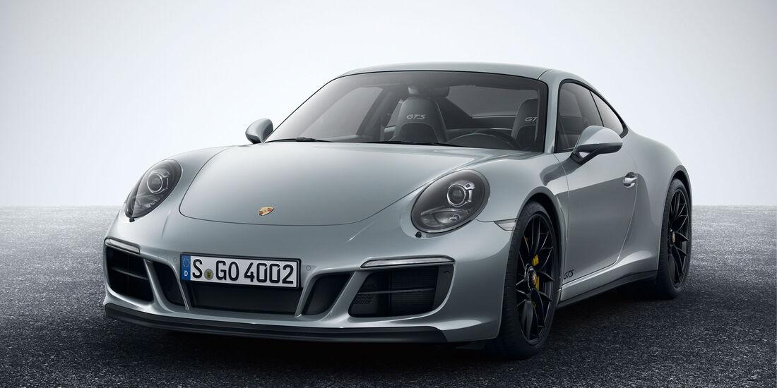 Porsche 911 Carrera 4 GTS - Coupé - Sportwagen - Turbo - Heckmotor