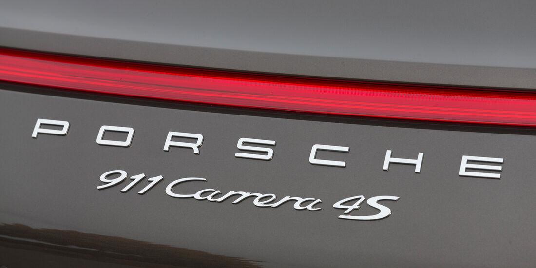 Porsche 911 Carrera 4S, Typenbezeichnung