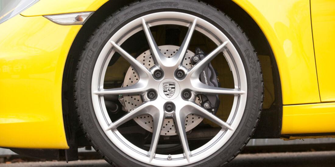 Porsche 911 Carrera Cabriolet, Rad, Felge