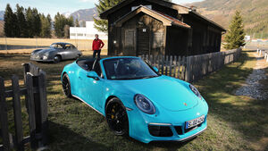 Porsche 911 Carrera GTS Cabrio, Frontansicht
