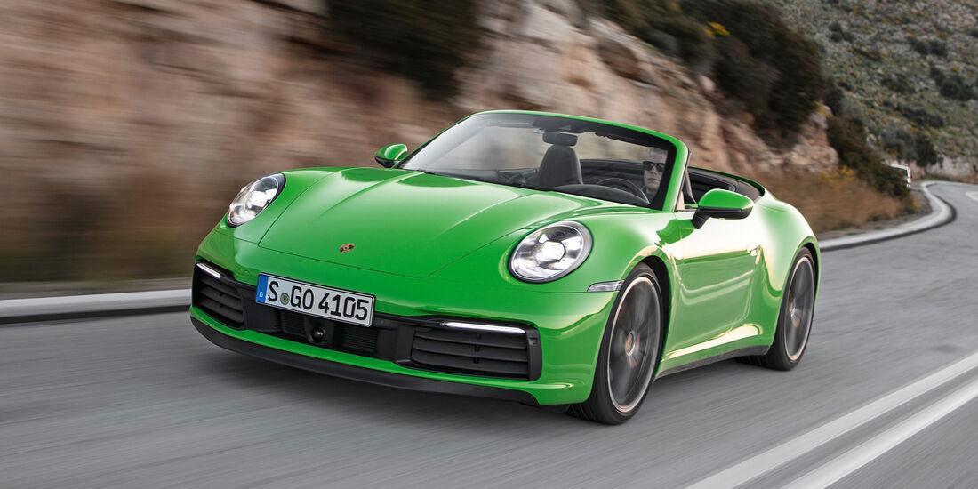Porsche 911 Carrera S Cabriolet - Serie - Cabrios bis 150000 Euro - sport auto Award 2019
