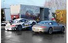 Porsche 911 Carrera S, Rennstrecke
