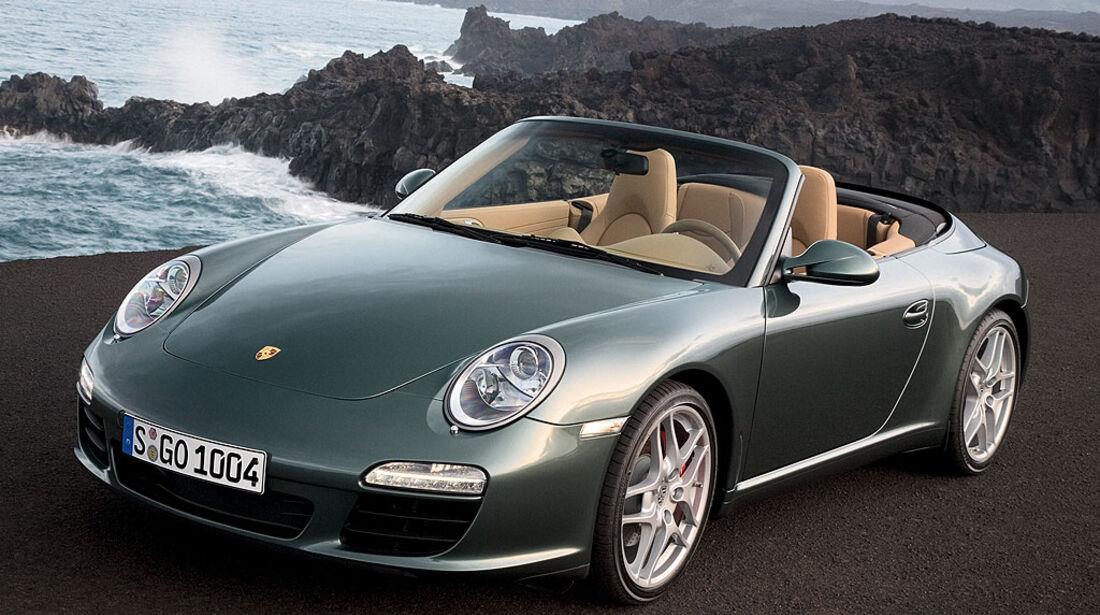 Porsche 911 Carrrera S Cabrio