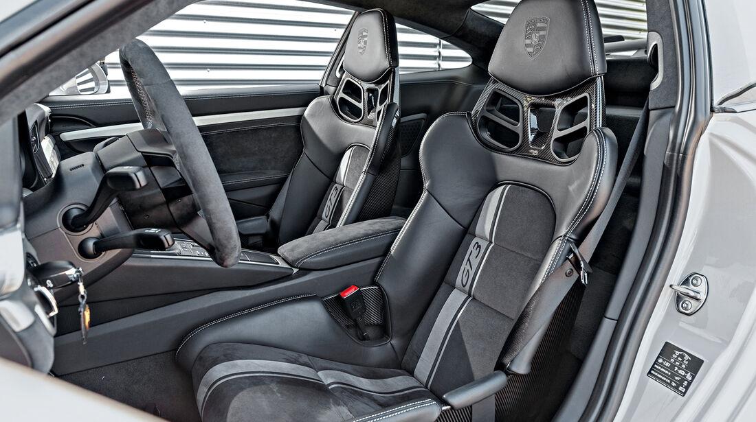Porsche 911 GT3 (991), Interieur