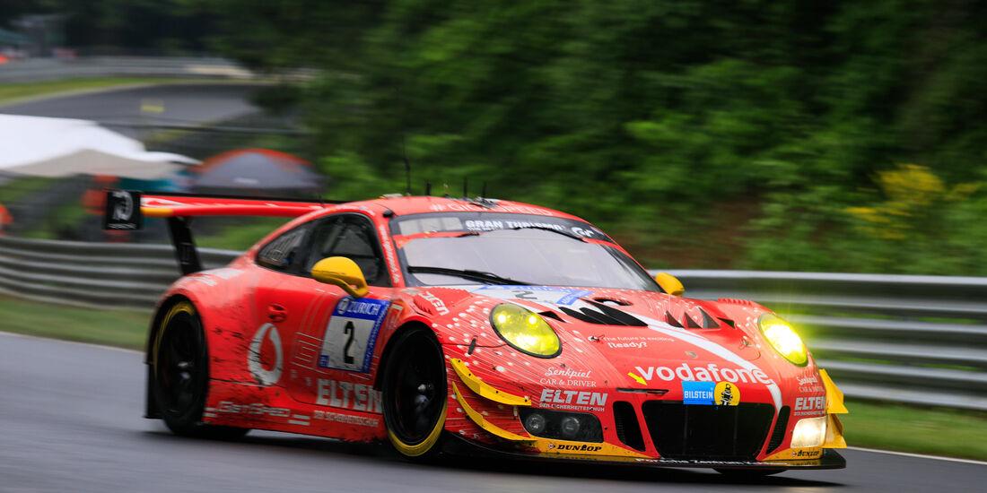 Porsche 911 GT3 R - Startnummer #2 - 24h-Rennen Nürburgring 2018 - Nordschleife - 13.5.2018