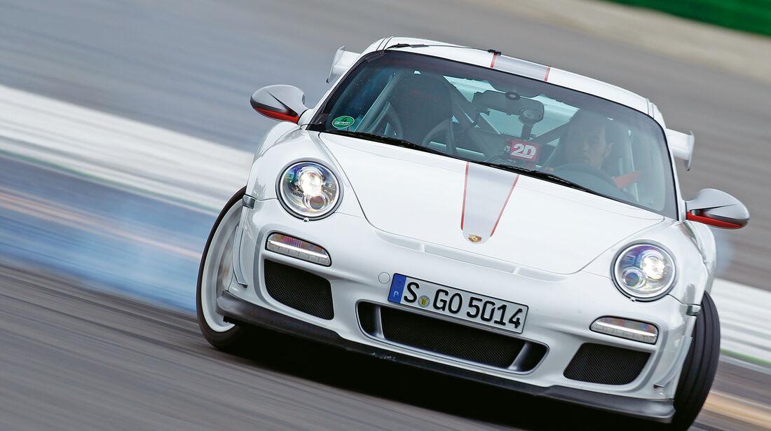 Porsche 911 GT3 RS 4.0, Frontansicht, Driften