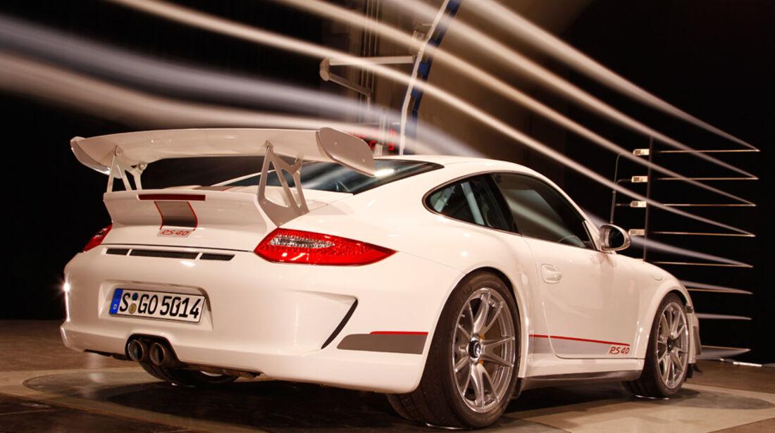 Porsche 911 GT3 RS 4.0, WIndkanal