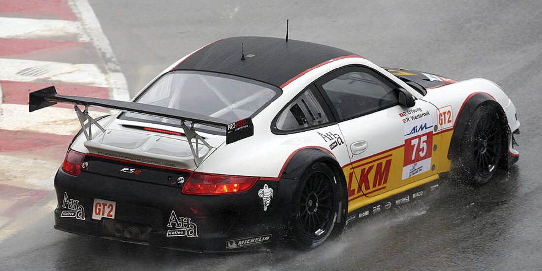 Porsche 911 GT3 RSR 2010 , Prospeed Competition: Darryl O'Young, Richard Westbrook, Intercontinental Le Mans Cup