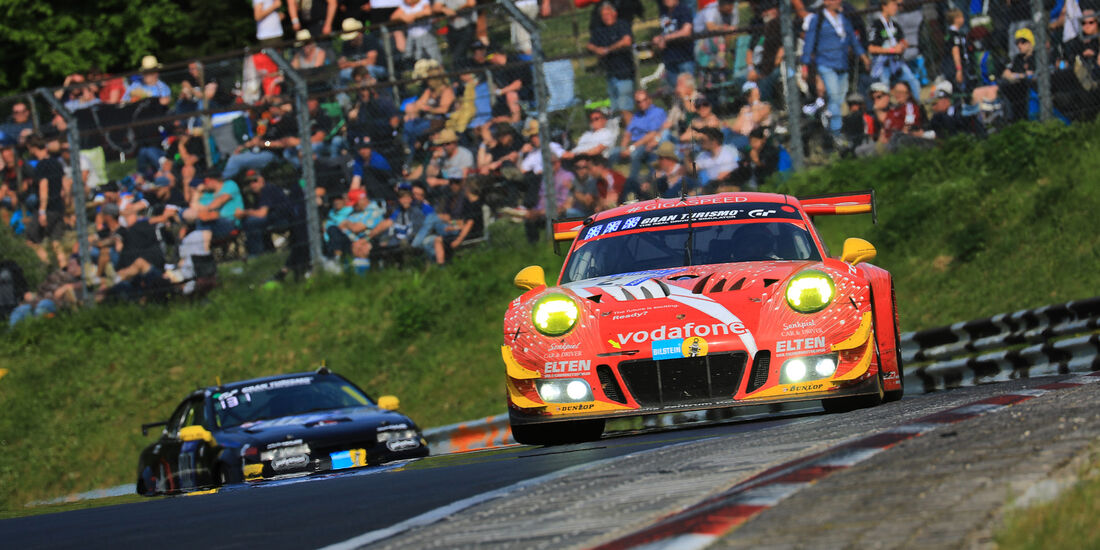 Porsche 911 GT3 - Startnummer #2 - 24h-Rennen Nürburgring 2018 - Nordschleife - Samstag 12.5.2018