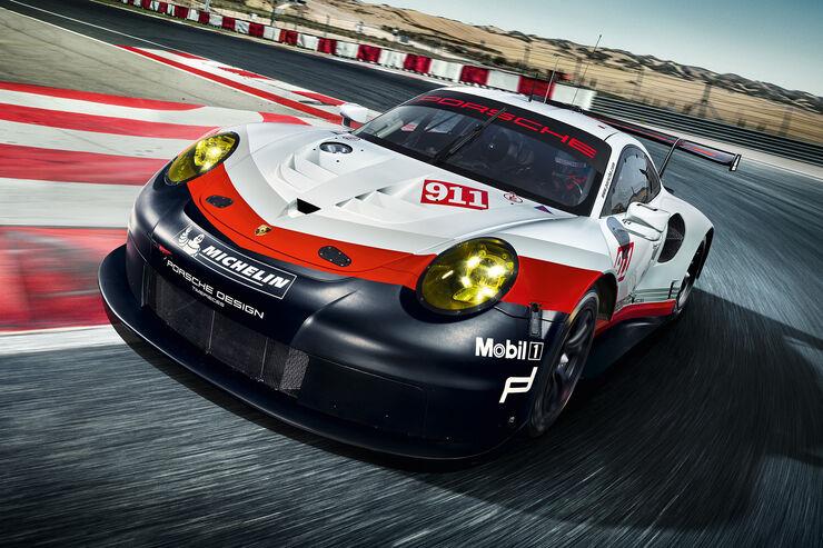 Erklart Die Technik Des Neuen Porsche 911 Rsr 2017 Auto Motor