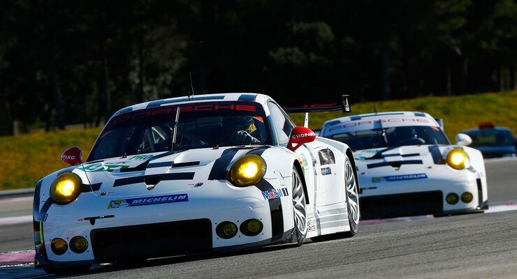 Porsche 911 RSR - Paul Ricard - Le Mans-Prolog - 27. März 2015