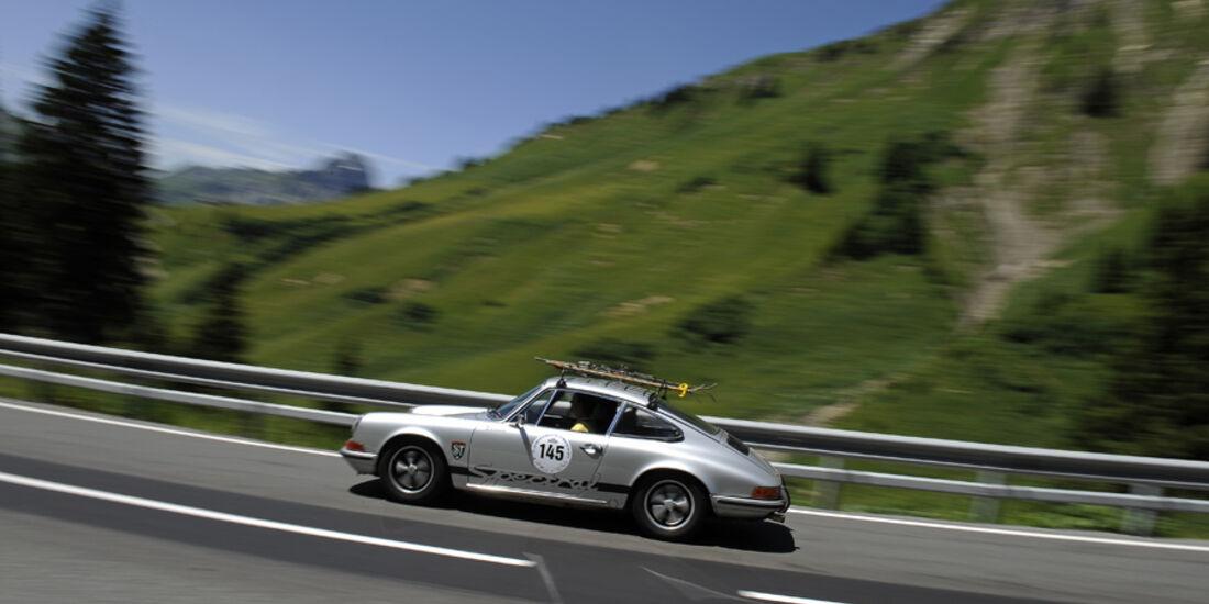 Porsche 911 - Silvretta Classic 2010