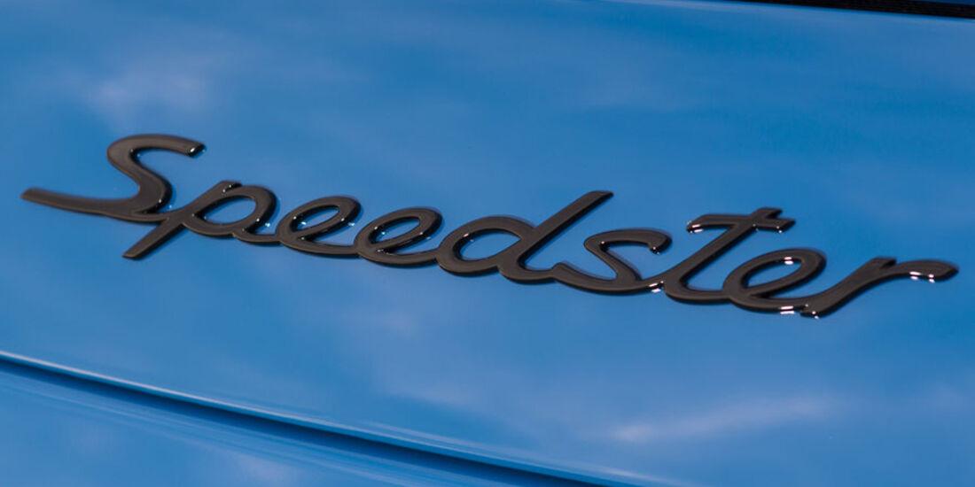 Porsche 911 Speedster, Modellbezeichnung