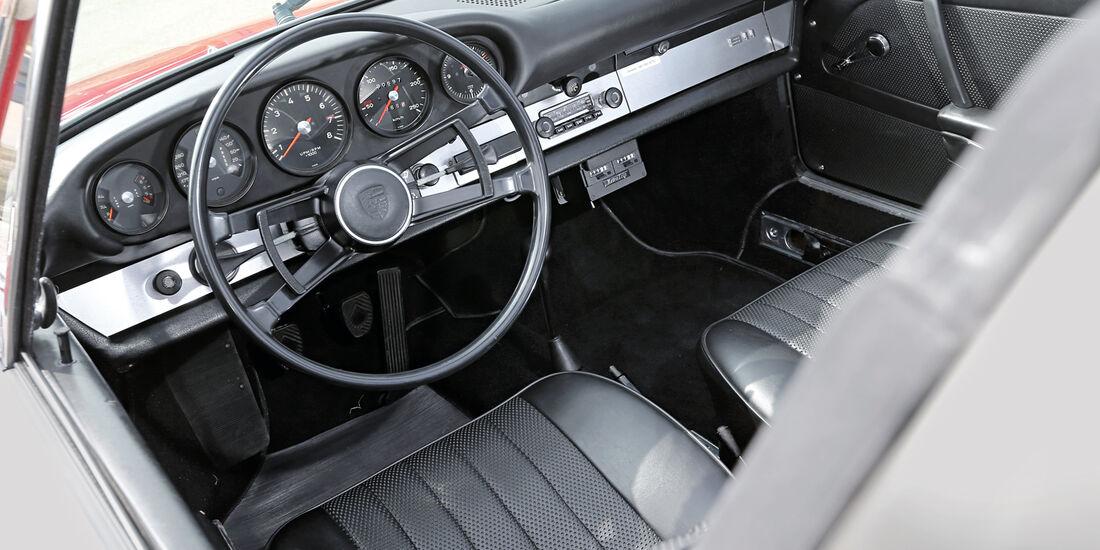 Porsche 911 Targa, Cockpit