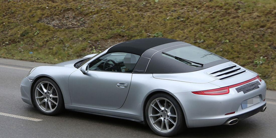 Porsche 911 Targa Erlkönig