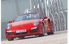 Porsche 911 Turbo Cabriolet, Frontansicht