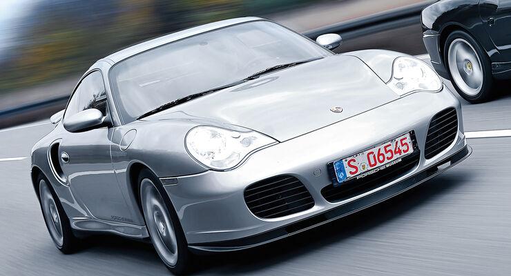 Porsche 911 Turbo S (996), Frontansicht