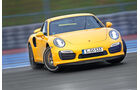 Porsche 911 Turbo S, Driften, Frontansicht