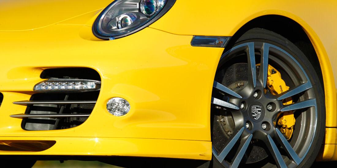 Porsche 911 Turbo S, Vorderrad