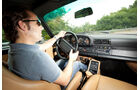 Porsche 911 turbo 3.3, Cockpit, Fahrersicht