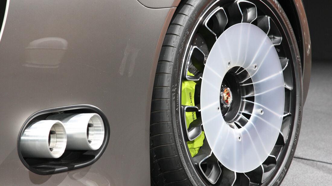 Porsche 918 Spyder, Auspuff, Endrohre, Felge