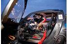 Porsche 918 Spyder, Cockpit, Fahrersitz