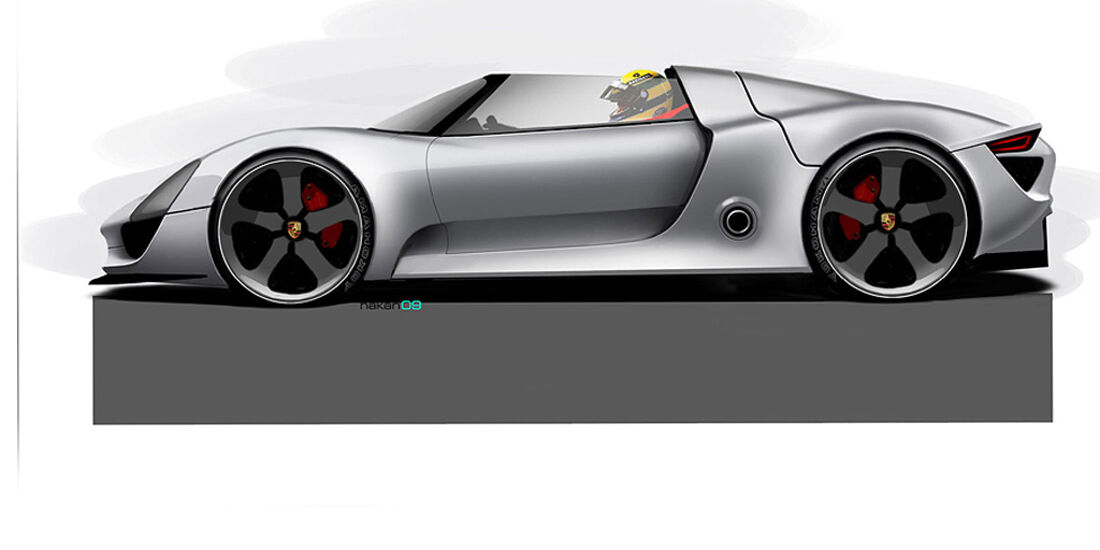 Porsche 918 Spyder Design