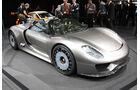 Porsche 918 Spyder, Endversion, Austellung, Front