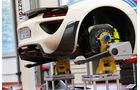 Porsche 918 Spyder, Hebebühne, Fahrwerk
