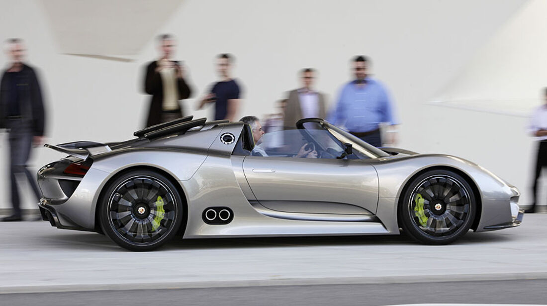 Porsche 918 Spyder, Konzept-Studie