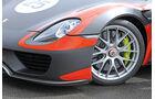 Porsche 918 Spyder, Rad, Felge, Frontscheinwerfer