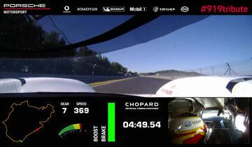 Porsche 919 Evo - Rekord Nordschleife - Onboard-Video - Screenshot - 2018