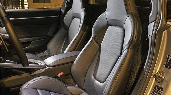 Porsche 922 Carrera 4S, Interieur