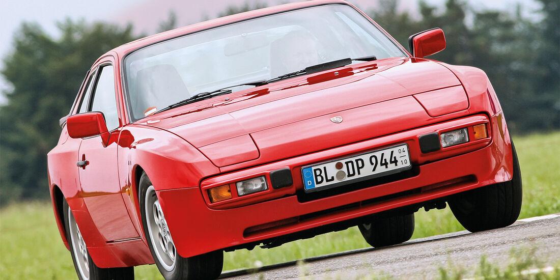 Porsche 924/944, Frontansicht