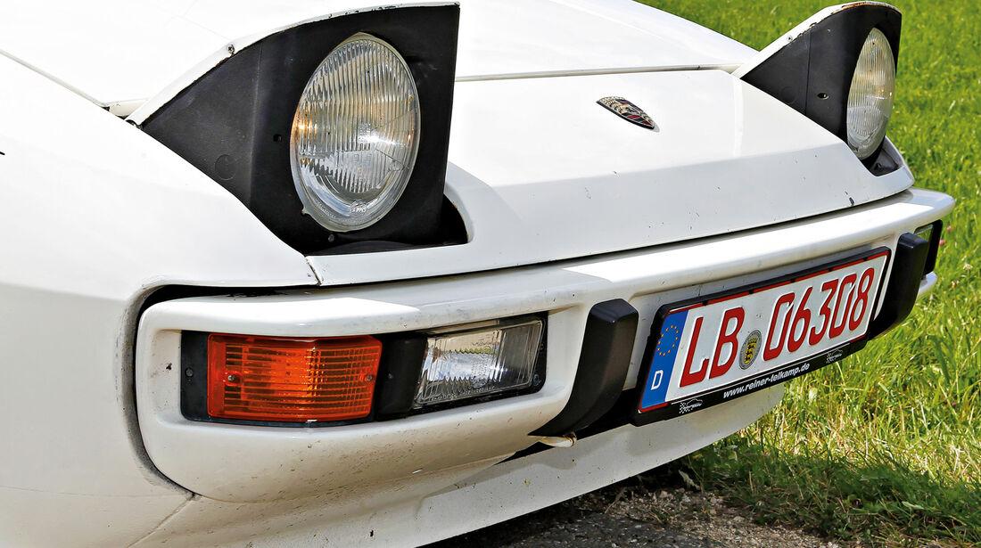 Porsche 924, Frontscheinwerfer