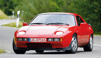 Porsche 928, Frontansicht