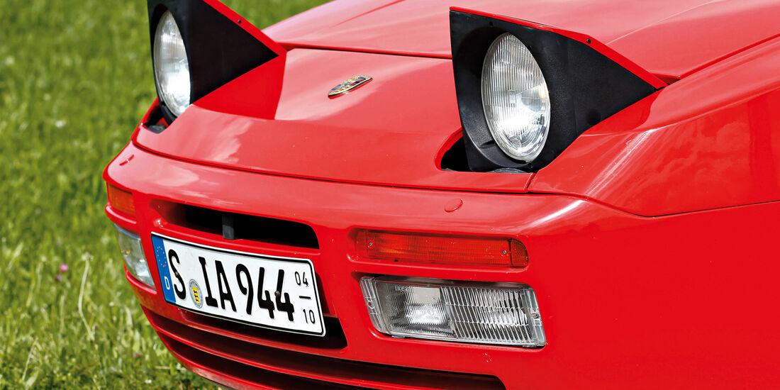 Porsche 944 S2 Cabrio, Frontscheinwerfer