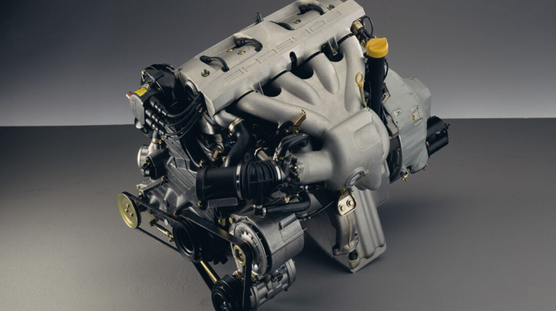 Porsche 968, Detail, Motor