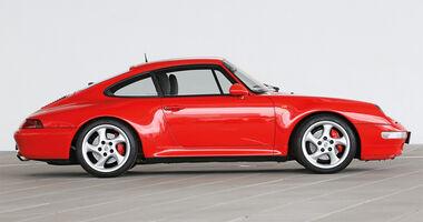Porsche 993, Seitenansicht