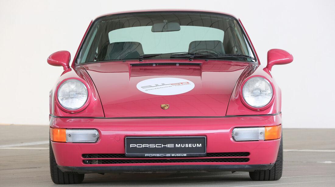 Porsche 996/997, Frontansicht
