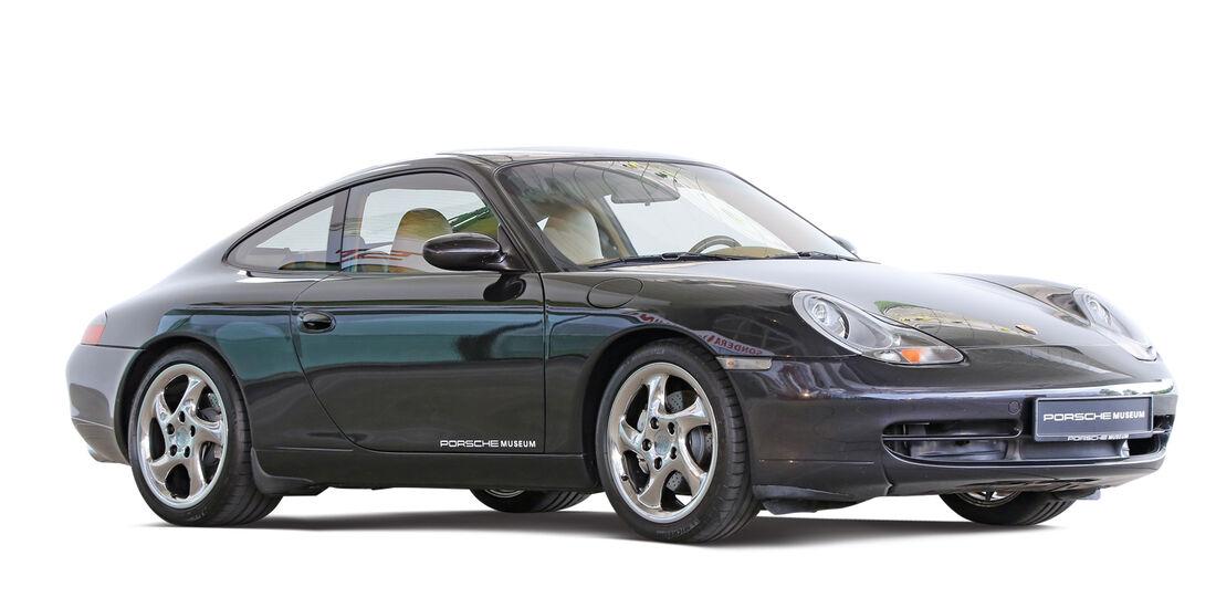 Porsche 996/997, Seitenansicht