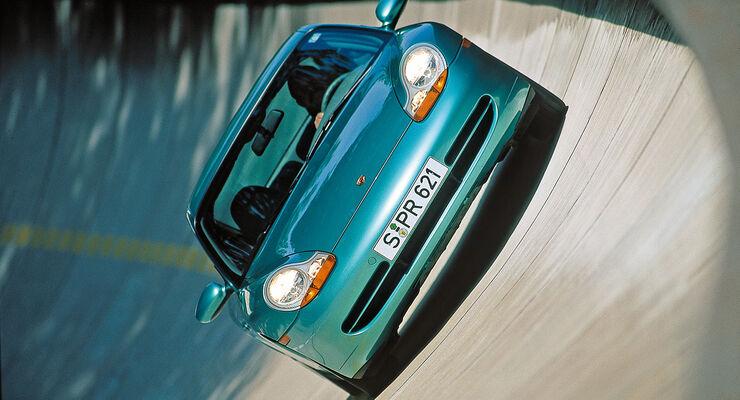 Porsche 996, Steikurve
