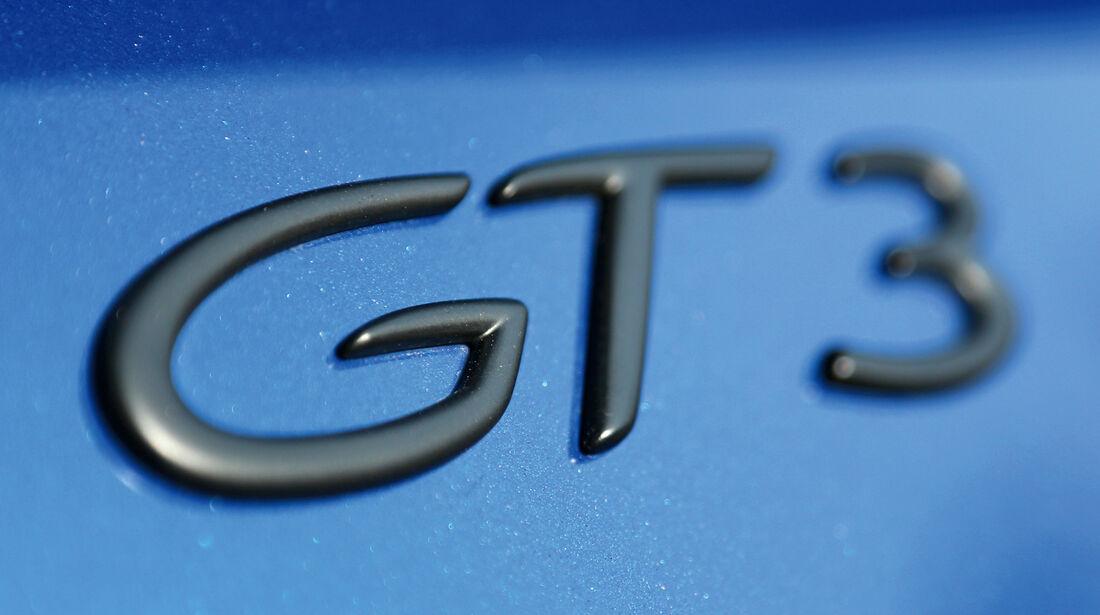 Porsche 997 GT3, Typenbezeichnung