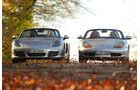 Porsche Boxster, 2013, 1996, Baujahrvergleich