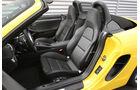 Porsche Boxster, Fahrersitz, Sitze