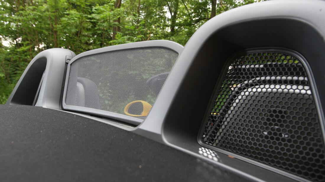 Porsche Boxster S, Windschott